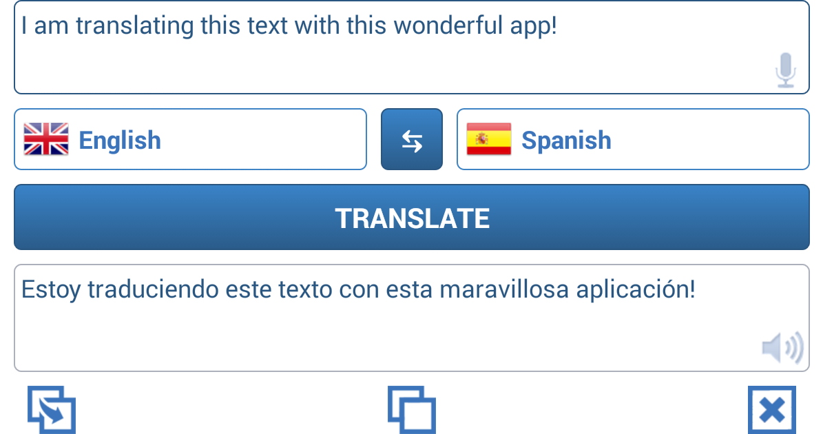 اپلیکیشن مترجم زبان برای اندروید