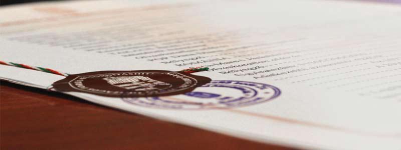 ترجمه رسمی با تایید دادگستری - ترجمه رسمی تائید وزارت خارجه