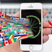 translating iphone 670x335 180x180 - ۳ نوع خطای مهم در ترجمه و جلوگیری از آن