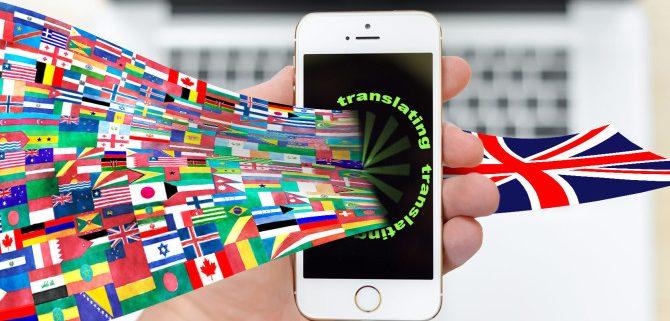 translating iphone 670x335 670x321 - ۳ نوع خطای مهم در ترجمه و جلوگیری از آن